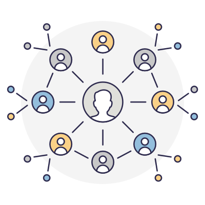 Contacts network